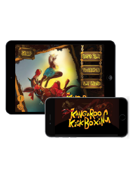 Kangaroo Kickboxing – iOS Screenshot