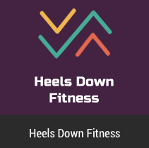 Heels Down Fitness iphone mobile application development